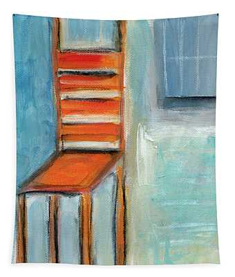 Chair By The Window- Painting Tapestry