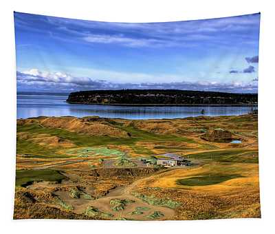 Chambers Bay Golf Course Tapestry