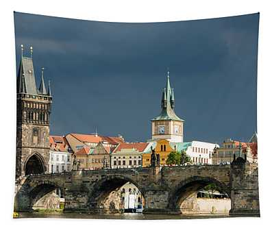 Charles Bridge Prague Tapestry