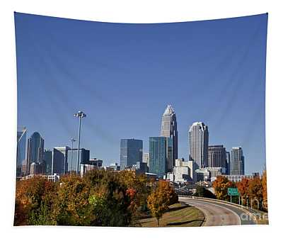 Charlotte North Carolina Tapestry