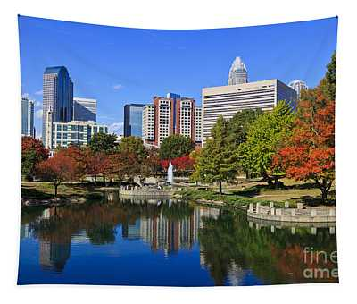 Charlotte North Carolina Marshall Park Tapestry