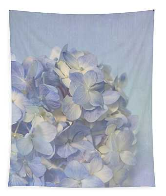 Charming Blue Tapestry