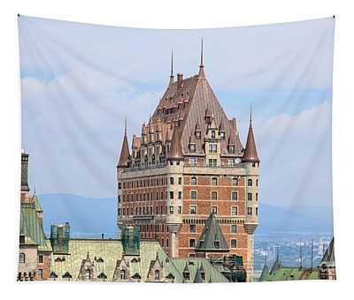Chateau Frontenac Quebec City Canada Tapestry