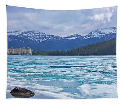Chateau Lake Louise #2 Tapestry