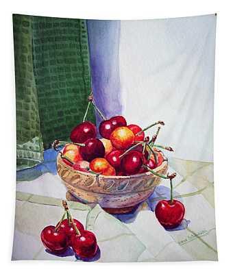 Cherries Tapestry