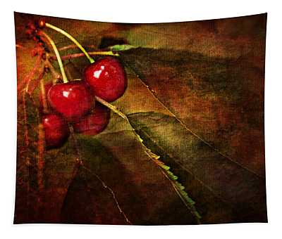 Cherry Time Tapestry