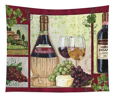 Chianti And Friends 2 Tapestry