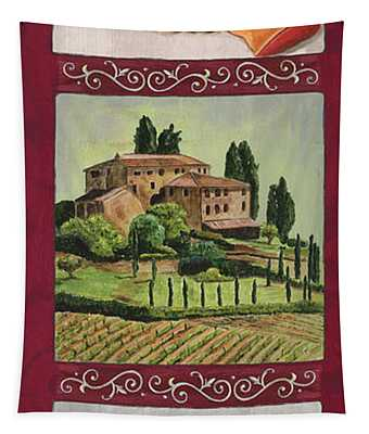 Chianti And Friends Collage 1 Tapestry