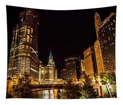 Chicago Riverwalk Tapestry