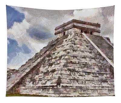 Chichen Itza Tapestry