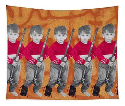 Children Of War, Children Of Peace, 1996 Silkscreen On Canvas See Also 279271 Tapestry