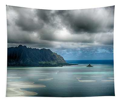 Chinaman's Hat From Puu Maelieli Tapestry