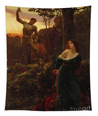 Knighting Wall Tapestries