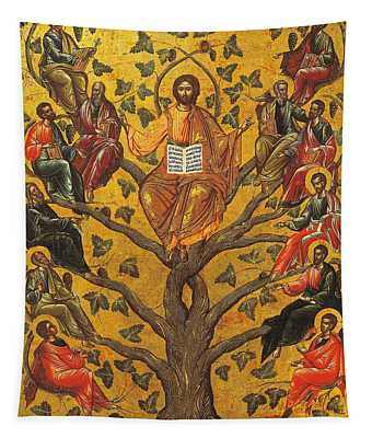 Christ And The Apostles Tapestry