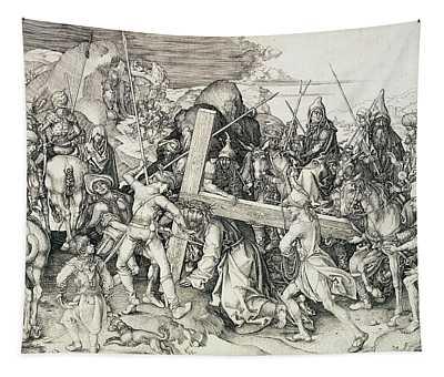 Christ Bearing His Cross Tapestry