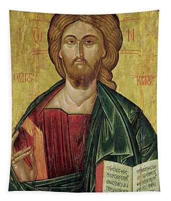 Christ Pantocrator Tapestry