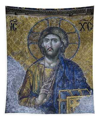 Christ Pantocrator IIi Tapestry