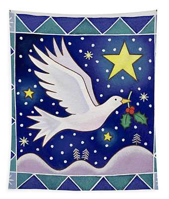 Christmas Dove  Tapestry