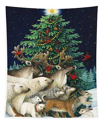 Christmas Parade Tapestry