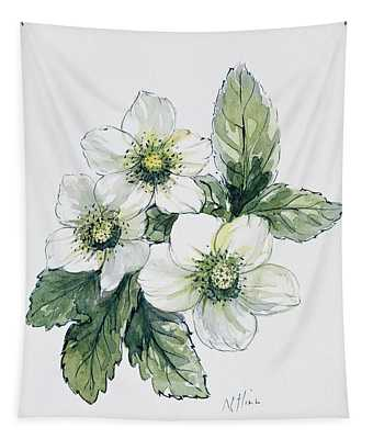 Christmas Rose Tapestry