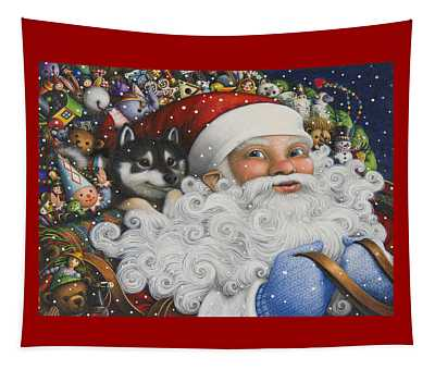 Christmas Stowaway Tapestry