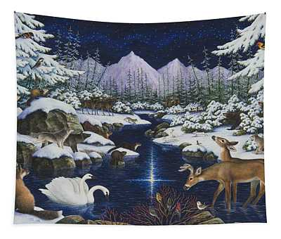 Christmas Wonder Tapestry