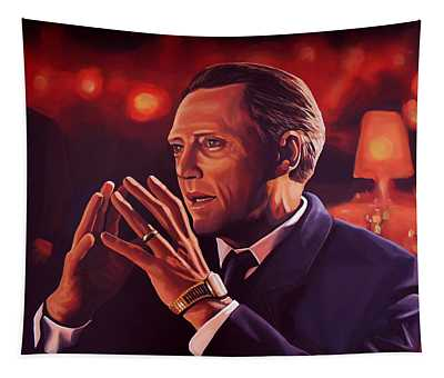 Christopher Walken Painting Tapestry