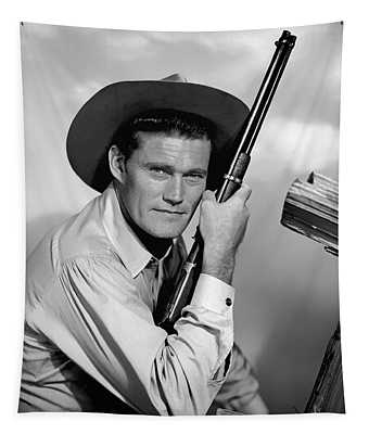 Chuck Connors - The Rifleman Tapestry