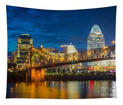 Cincinnati Downtown Tapestry