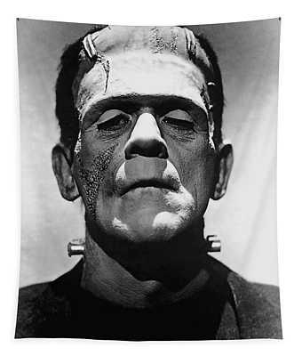Cinema Frankenstein Tapestry