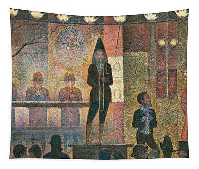Circus Sideshow Tapestry