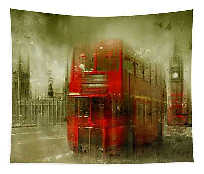 City-art London Red Buses Tapestry