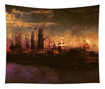 City On The Sea Tapestry