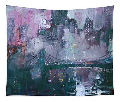 City That Never Sleeps Tapestry