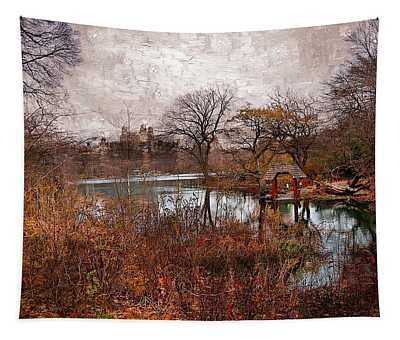 New York City View Y1 Tapestry