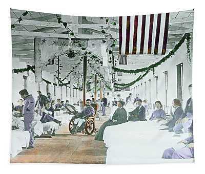 Civil War Era Photograph 1861 To 1865 Tapestry