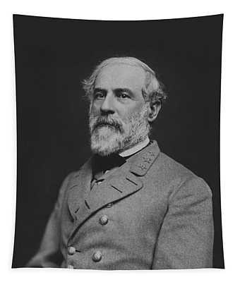 Civil War General Robert E Lee Tapestry