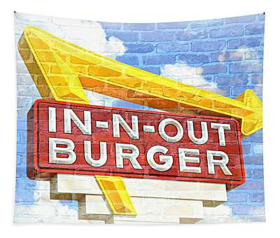 Classic Cali Burger 2.5 Tapestry