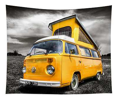 Classic Vw Campervan Tapestry