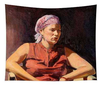Clementine, 2004 Oil On Canvas Tapestry