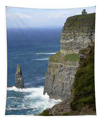 Cliffs Of Moher 7 Tapestry