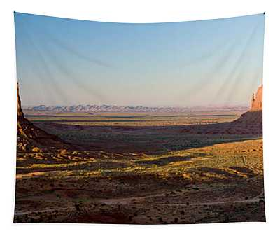 Cliffs On A Landscape, Monument Valley Tapestry