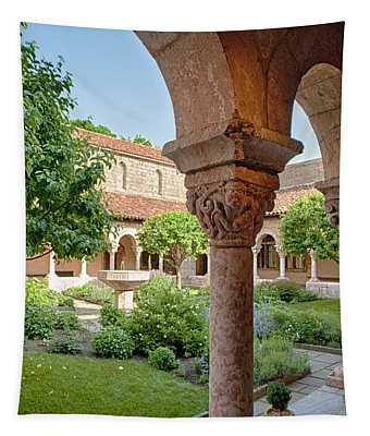 Cloisters Courtyard Tapestry