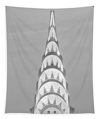 Close Up Of The Chrysler Building Tapestry