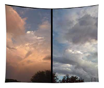 Cloud Diptych Tapestry