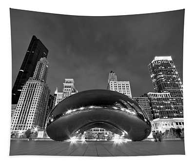 Cloud Gate And Skyline Tapestry