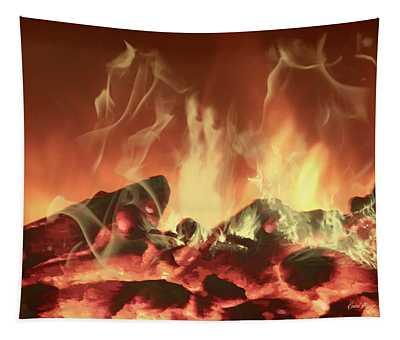 C'mon Baby Light My Fire Tapestry
