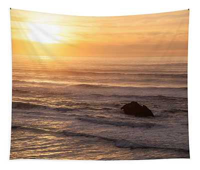 Coastal Rhythm Tapestry
