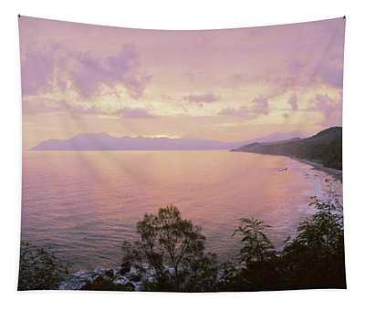 Coastline, Flores Island, Indonesia Tapestry