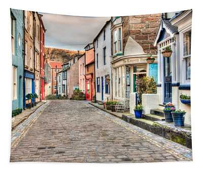 Cobbled Street Tapestry